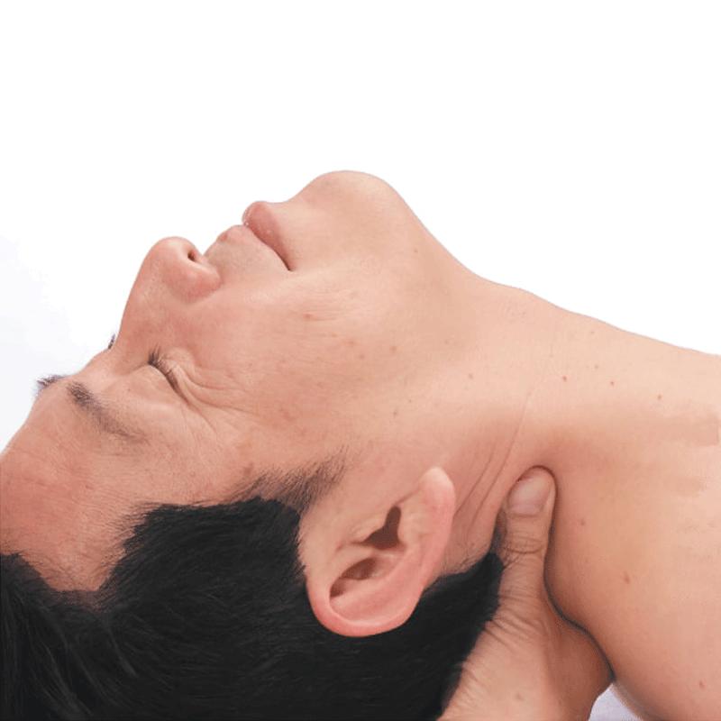Massage du coup shiatsu