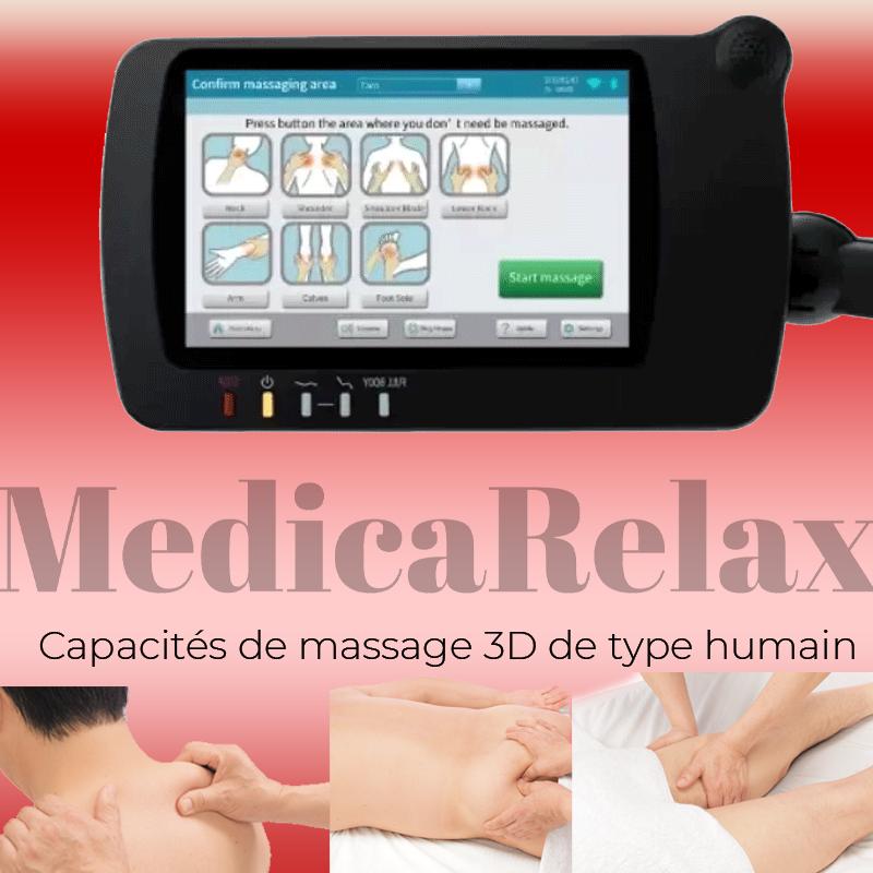 Capacités de massage 3D de type humain