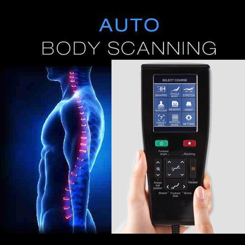 La télécommande dispose d'un écran tactile