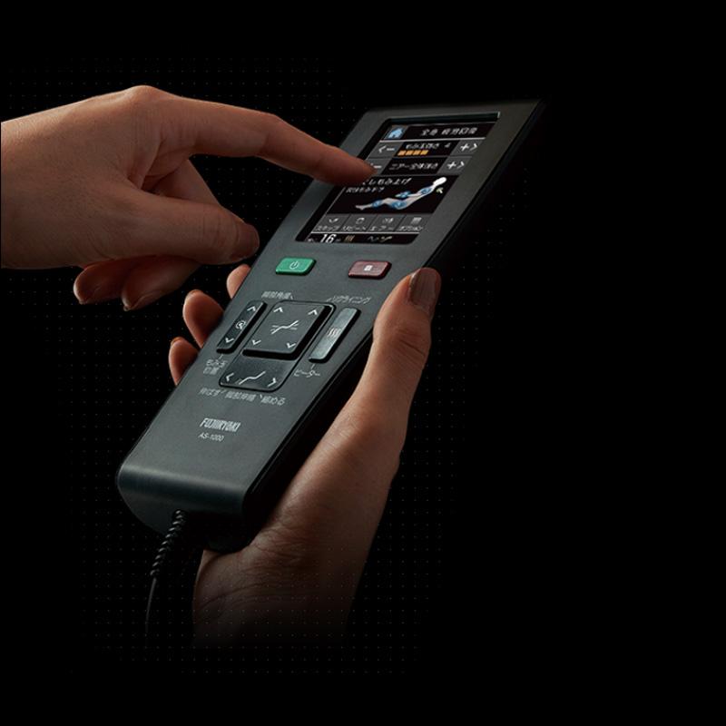 Télécommande avec écran tactile