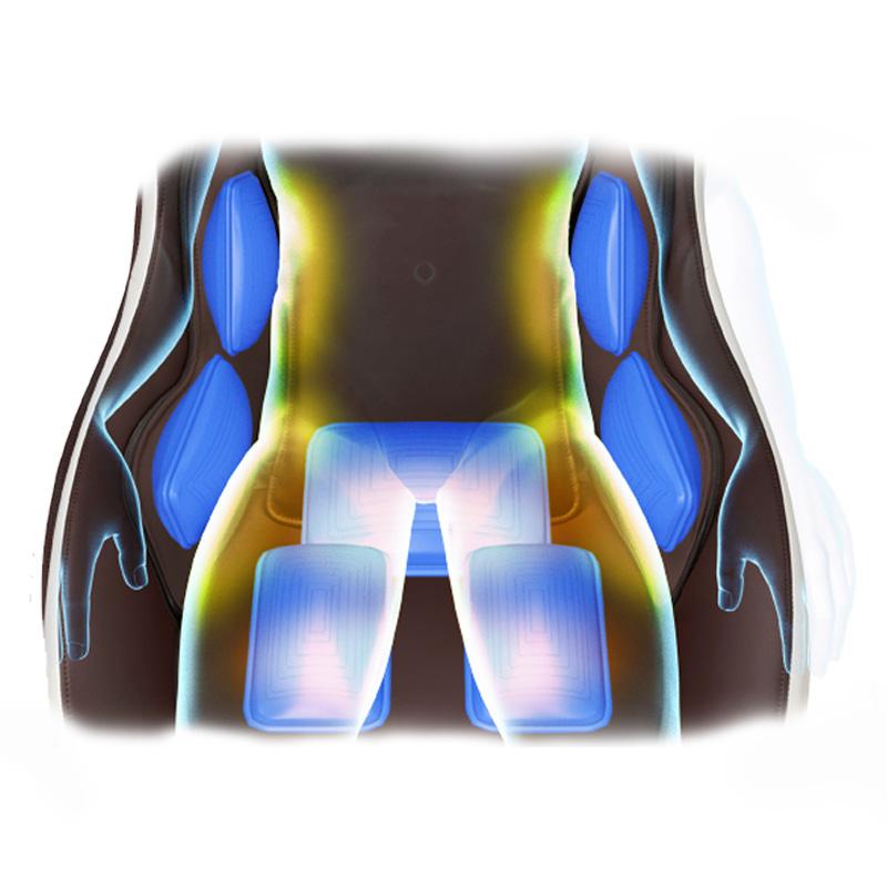 Le massage 3D pour votre dos