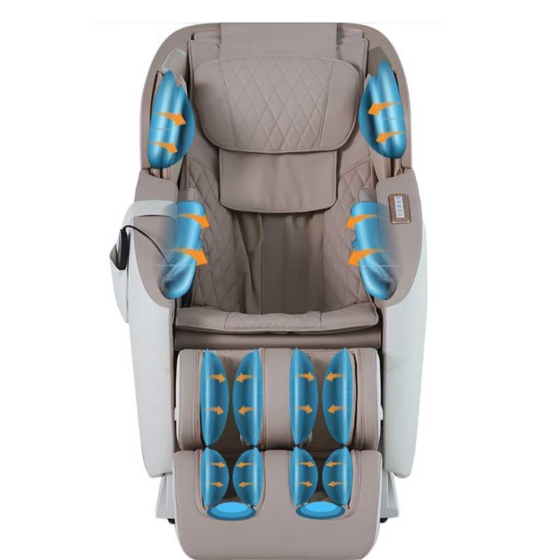 Programmes automatiques du fauteuil massant MedicaPro II